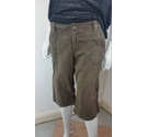 White Stuff Canvas Shorts Brown Size: M