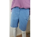 Boden Cotton Shorts Pale Blue Size: M