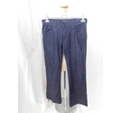 Armani Jeans Wide Leg Denim Blue Size: 34""