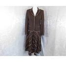 Coast Jacket and skirt suit Brown Size: 14
