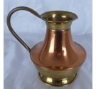 Brass and cooper colours jug