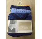 M&S Marks & Spencer Pack of Three Briefs, Blue Mix Size: L