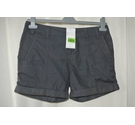 Calvin Klein Cotton Shorts Navy Blue Size: 28""