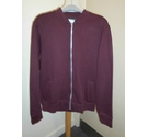 Burton Zipped fleece Burgundy Size: M