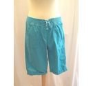 Cotton Traders Cotton Shorts Blue Size: 34""