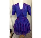 unbranded dress and cardigan purple Size: 12