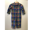 Ralph Lauren Checked Jumpsuit- Multi-coloured Size: Other