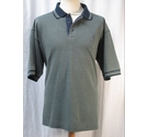 Paolo Golf Short Sleeve Polo shirt Blue Size: XL