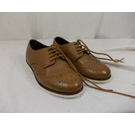 Next Boys Brogues Tan Size: 10