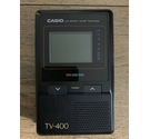 "Casio TV-400 2"" Vintage LCD Pocket Colour Television analogue receiver"