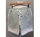 Markus Lupfer Womenswear Resort Shorts White Green Size: L