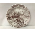 Vintage German Ploughing Scene Collectors Plate, Boxed