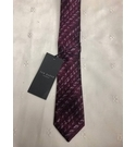 Ted Baker Textured Weave Tie Red Size: Not specified