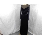 Gina Bacconi Velvet dress Black Size: 12