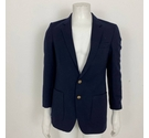 Unbranded Pure New Wool Blazer Navy Size: L