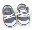 Polo Ralph Lauren Children's Trainers Grey Size: 2.5