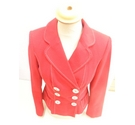 M&S Marks & Spencer Jacket Red Size: 8