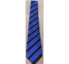 Hand Woven Thia Silk Tie Blue and Black Size: One size