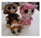 Three Ty Beanie Stuffed Toys - Sophie, Coconut and Gypsy