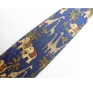 Salvatore Ferragamo Silk tie Blue Size: One size