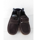 NWOT Marks & Spencer KIDS Velcro Fastening Suede Loafer Brown Size: 7