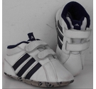 Adidas Size 3 Leather Trainers White Size: Other