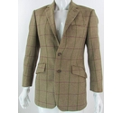 Vintage Bladen 36R Wool Tweed Jacket Brown Check Size: S