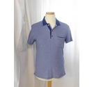 Armani Exchange Polo T-shirt Blue Size: XS