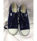 Daniel Hechter Canvas Sneakers/Trainers Navy & White Size: 5