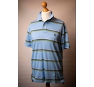 Polo by Ralph Lauren Polo Shirt Blue Mix Size: M