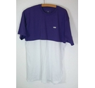 Vans T shirt Purple/White Size: L
