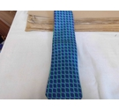 T M Lewin Silk Tie Blue and Green Size: One size
