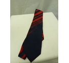 Christian Dior Monsieur Striped Tie Red and Blue Size: One size