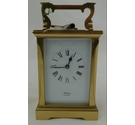 Classic vintage Huber London brass carriage clock