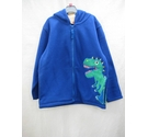 GR8 Kids Zip up hoodie with dinosaur Royal Blue Size: 7 - 8 Years