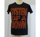 System of a Down NEW Cotton T-Shirt Black Size: S