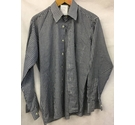 Hornes Gingham check shirt Blue Size: M
