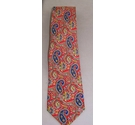 Ailtea Milano Made in italy silk tie Multi Size: One size