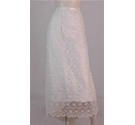 Unbranded Embroidered Bridal Skirt Ivory Size: M