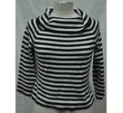 Marilyn Anselm for Hobbs Jumper Black & White Size: 12