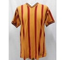 Score Draw Official Retro Bradford City AFC Shirt Claret & Amber Size: M