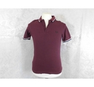 Fred Perry Polo shirt Burgundy Size: S