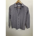 M&S Marks & Spencer Cotton shirt Purple Size: 13 - 14 Years