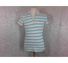 Tommy Hilfiger Polo shirt White and green Size: M