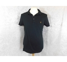 All Saints Polo shirt Black Size: M