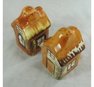 Vintage 1950s English Cottage Salt and Pepper Shakers