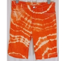 Per Una Shorts Orange Tie Dye Size: 32""