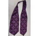 Favourite Broad Cravat in Purple Pattern Size: One size