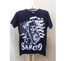 Sons of Anarchy T-shirt Black and white Size: S