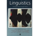 Linguistics. An Introduction to Linguistic Theory.